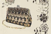 Lady accessories - bags shoes makeup etc