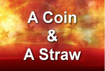 "A Coin & A Straw / We've talked about Rick Wilcox's 25 Amazing Card Tricks Video that is available at www.rickwilcox.com in the magic shop. This week we would also like to bring to your attention magic tricks you can easily do with household items! These and others like this are also available when you purchase ""Rick Wilcox Magic Kit!"" Over 100 amazing tricks with a DVD of Rick performing and demonstrating tricks!"