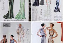 šaty 1930