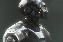 droids robots hf