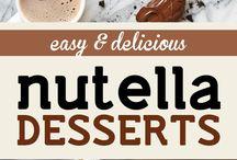 nutella/chocolate/ peanutbutter / recipes