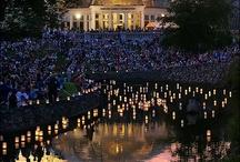 Japanese Lantern Lighting Festival