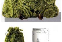 sac fleurs crochet