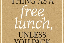 Inspired lunches / by Mary Creamer