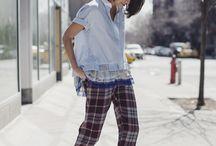 How to wear pajama pants