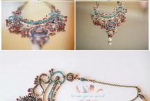 My collection / Bohemian costume jewellery