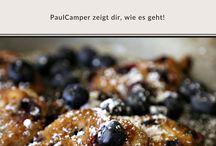 Camping Rezepte / Leckere Camping Rezepte für unterwegs: Vegetarisch, International, Einfach. Kochen, Backen und Grillen auf der Reise im Camper.
