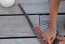 Loom weaving