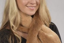 Stylish and Real Women's Fur Scarves / The largest selection of real women's fur scarves.  www.amifur.co.uk
