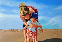pinturas / Pinturas artisticas, artistic paint, brush
