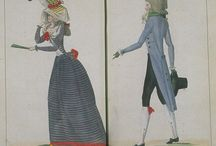 Fashion plates: 1790s / Fashion plates from 1790-1799.
