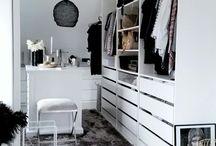 - walk in closet -