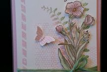 Butterflies Stampin'up / Cards en beautiful DIY projects with use of butterflies, vlinders, home decorating