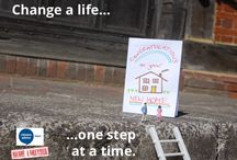 Change a Life: One Step at a Time / Demonstrating how Citizens Advice Hart is there to help during life's big changes, our latest volunteer recruitment campaign utilises Slinkachu style street art photography.