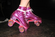 Rollerskating / Just like ice skating but without the ice. / by Jennifer Wilson