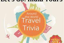 Amazing Travel Trivia / Read blog Amazing Travel Trivia   http://letsgoindiatours.blogspot.in/2016/05/amazing-travel-trivia.html