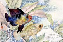 Lian Quan zehn watercolours