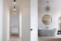 stunning bathrooms / a trend in bathroom design is to make them gorgeous rooms rather than just clean and clinical spaces