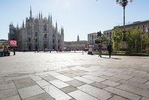 Piazza Duomo - Milano / Posa di lastricato con Sistema Mapestone