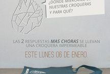 Concursos!  / Visita facebook.com/rocartistica y participa por una croquera impermeable este lunes 6 de Enero !!!  Croqueras de papel mineral. Amigables con el medio ambiente y de un gran rendimiento !!!