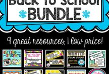 Back to School Resources from Making Meaning with Melissa / Great resources to help get your year started!  Perfect ideas for middle and high school. / by Making Meaning with Melissa