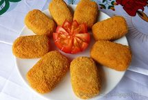 Chick pea nuggets