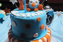 Lucca's birthday cake