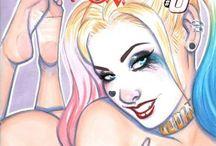 Comic Cover Girl