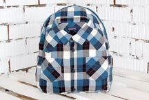 backpacks / all styles of back packs I love, recycled, upcycled, designer - simple + adorable
