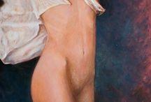 cuadros pintados por inmaculada (fotografia marivi ) / cuadros al oleo