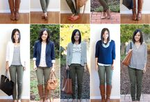 How to wear olive pants