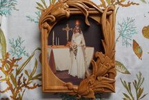 Wedding  and Anniversary Solid Wood Carvings / Special wood-carved items for your upcoming wedding.  We love custom work.  What can we create for you today? / by TheWoodGrainGallery