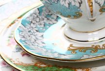 Crazy Crockery / An idea of collecting mismatched pre-loved crockery from op shops and putting odd pieces together to make beautiful settings.