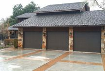CHI Flush Panel Garage Doors / by Thomas V. Giel Garage Doors