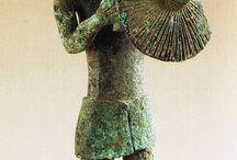 Nuragic bronzetti