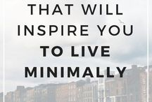 Living more simply
