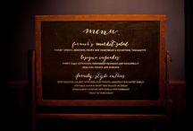 Menu / Food glorious food!