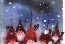 Kabouters en elfen.