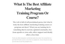 What Is The Best Affiliate Marketing Programs For Beginners?