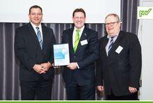 Auszeichnungen der NV / Die Auszeichnungen, die die NV immer wieder erhält, bestätigen die Qualität von Produkten und Services.