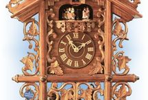 Cuckoo Clocks - Vintage Reproductions / Vintage authentic German Black Forest cuckoo clocks available at Bavarian Clockworks.