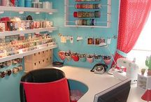 CRAFT ROOMS / by Tracy Woods