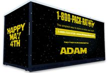 May The 4th Be With You! / At 1-800-PACK-RAT we're big fans of Star Wars. Celebrate with other Star Wars fans on Star Wars Day, the official Star Wars holiday.  / by 1-800-PACK-RAT