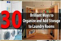 Laundry room / Organizers