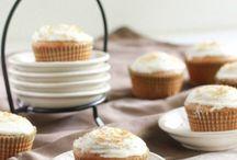 Cupcakes - Muffins - & More / Ich liebe und backe gerne, vor allem Muffins weil sie schnell gemacht sind, eine optimale Grösse haben und auch super zum verschenken und zum mitnehmen praktisch sind.