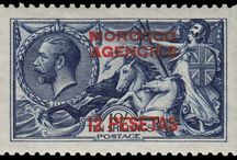 British Morocco Stamps
