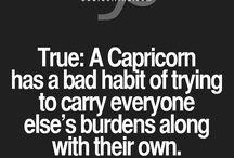 Capricorn/ personality