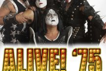 ALIVE! '75 - THE ULTIMATE KISS TRIBUTE / ALIVE ! '75 at The Newton Theatre 9/19/2015. Alive! '75 will take you back in time to witness early KISS as they burst onto the music scene. This one-of-a-kind classic KISS tribute brings the iconic KISS Alive! album to life with all of the sights, sounds and energy of a 1975-era KISS concert.Alive!'75 gives you the COMPLETE EXPERIENCE.