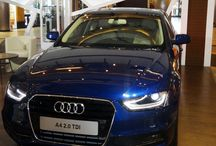 Audi Q3 & Audi A4 take over the stage at The Great India Place Mall, Noida / Today the Great India Place Mall has opened the gates for public to meet our beloved Audi A4 & Audi Q3