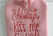 gesticktes ♥ embroidered ♥ Designbeispiele